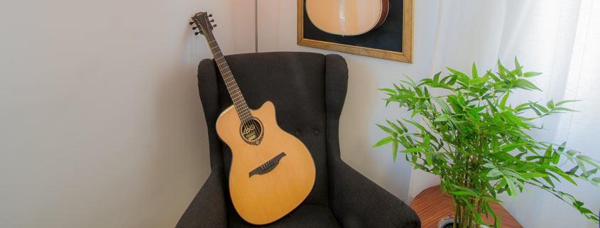 Edle Gitarren im Musikhaus Beck