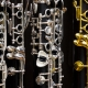 Klarinettenvitrine im Musikhaus Beck
