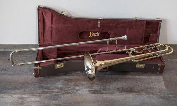 Vincent-Bach-LT42BOFG-Centennial-limitierte-Jubilaeums-Posaune mit Koffer