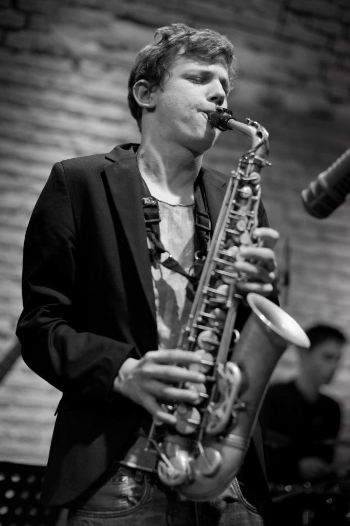 Jakob Manz spielt bei Rüdiger Baldauf Jackson Trip – Special Guest: Jakob Manz, alto sax
