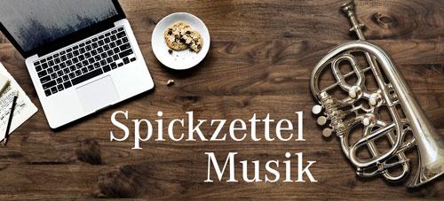 Spickzettel Musik