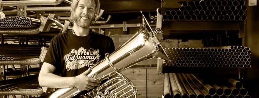 Tubaworkshop mit Stefan Huber im Musikhaus Beck