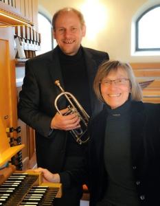 Schon seit dem Studium ein eingespieltes Duo. Matthias Beck und Hildegund Treiber.