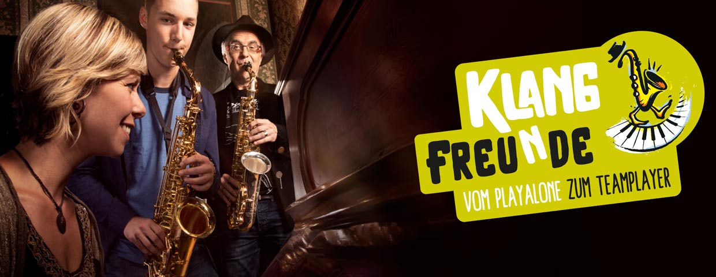Klangfreunde - Saxophonworkshop mit Dirko Juchem