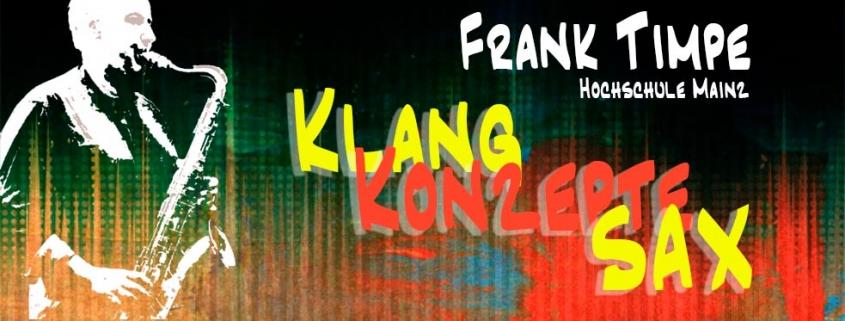 Sax Klangkonzepte mit Frank Timpe. Workshop im Musikhaus Beck.