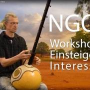 Ngoni für Einsteiger mit Frank Heinkel