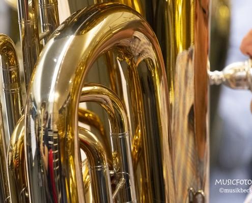 Fettes Instrument! Tubaworkshop mit Peter Laib, Moop Mama und die Egerländer im Musikhaus Beck.