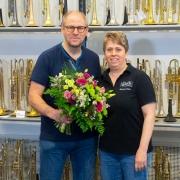 Barbara Haas 30 Jahre Musikhaus Beck