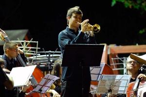 Rubén Simeó 2009 als Gastsolist beim internationalen Trompetenwettbewerb in Anna (Spanien)