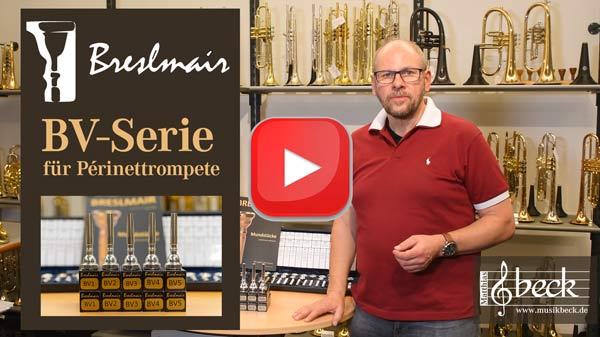 Matthias Beck stellt die Breslmair BV Trompetenmundstückserie vor