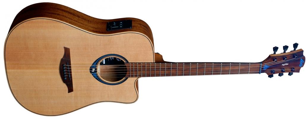 LAG Gitarre HyVibe im Musikhaus Beck