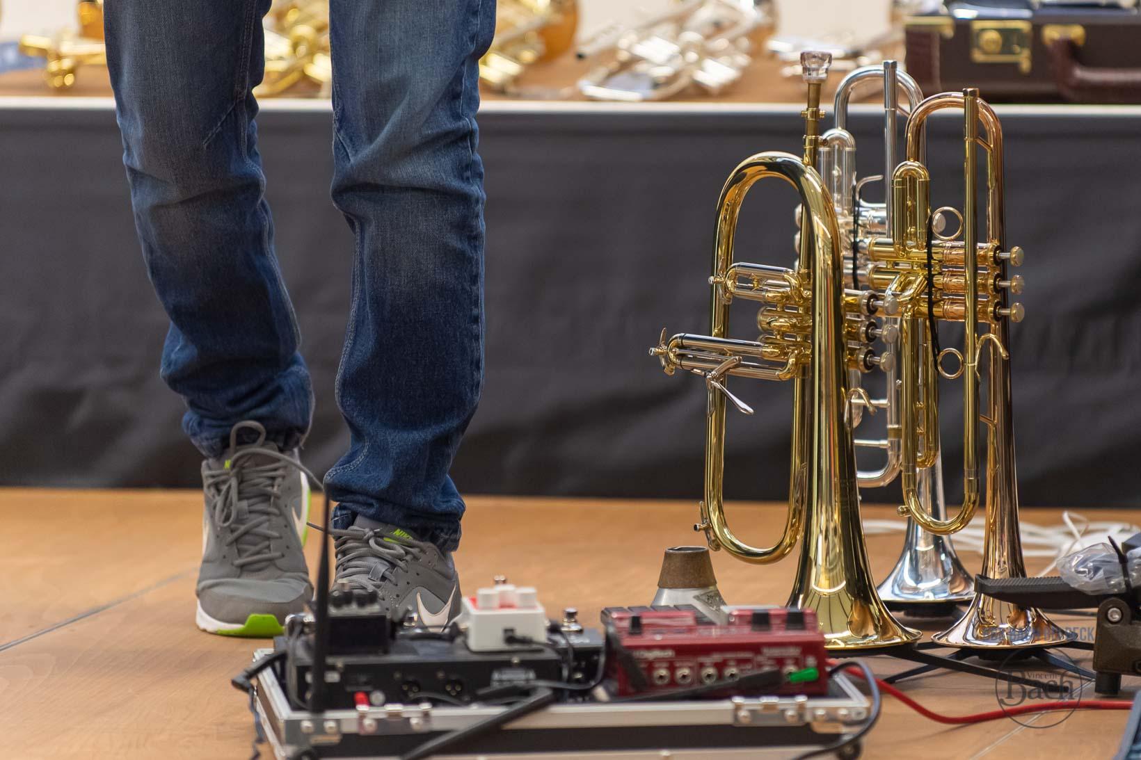 Bach Stradivarius Trompeten und Posaunen im Pro Brass Studio Musikhaus Beck