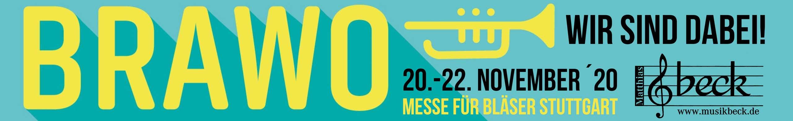 BRAWO Blasorchester-Messe Musikmesse Stuttgart mit dem Musikhaus Beck
