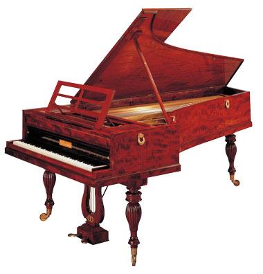 Clavinova Fortepiano - Klaenge aus Mozarts und Beethovens Zeiten