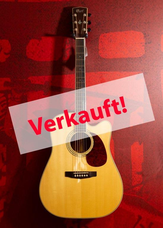 Cort Akkustik Gitarre verkauft