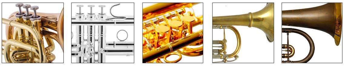 Oberflächen Veredelungen Trompeten