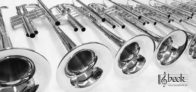 Beck Trompeten in der Meisterwerkstatt